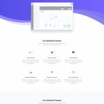 Sassy App Landing Page