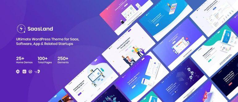 Saasland MultiPurpose WordPress Theme e
