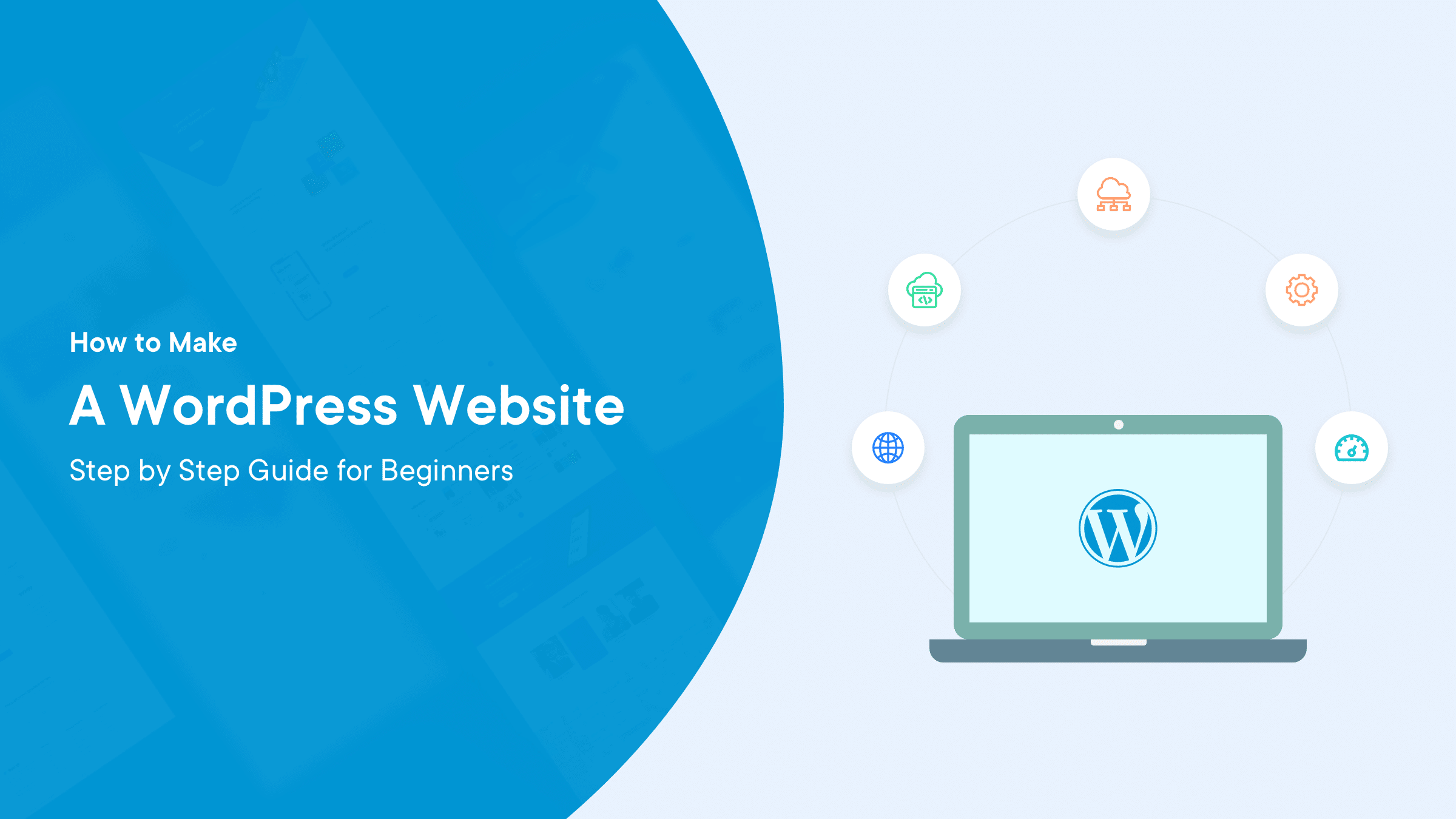 Preview Image for How to Make a WordPress Website–Step by Step Guide for Beginners