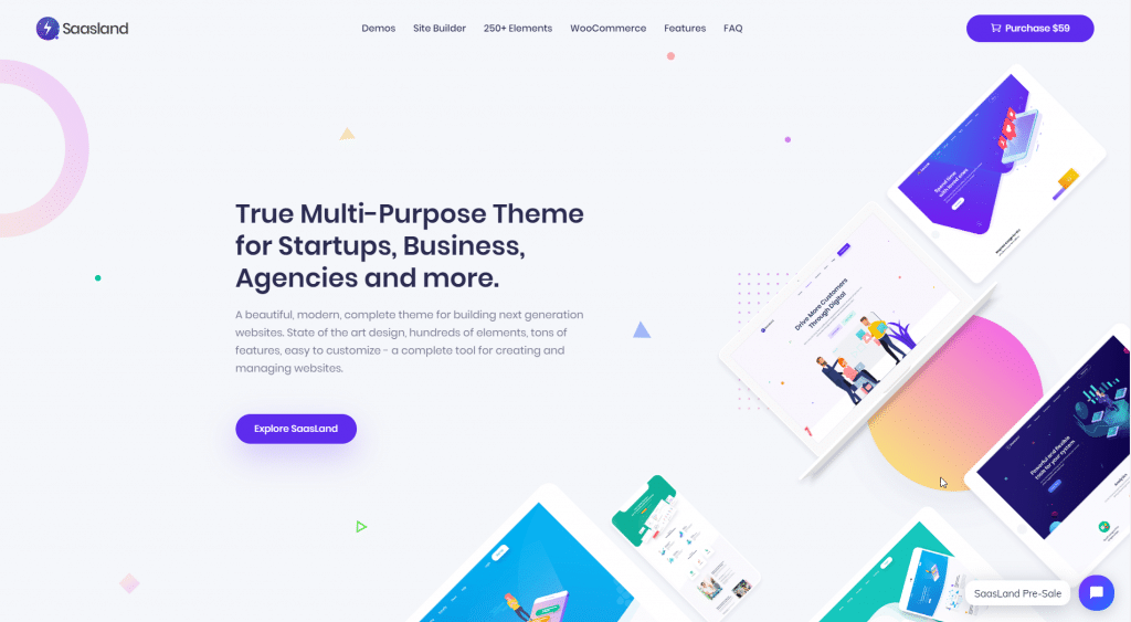 Choose a minimal design WordPress theme for your WordPress website.