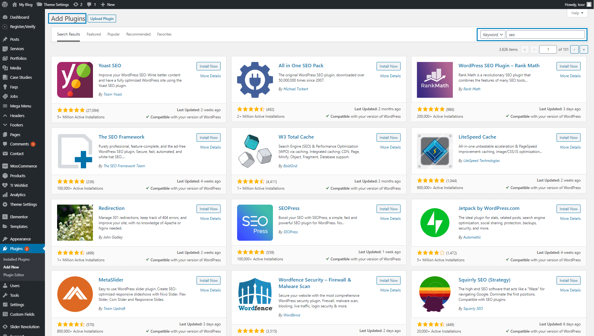 WordPress is very SEO friendly