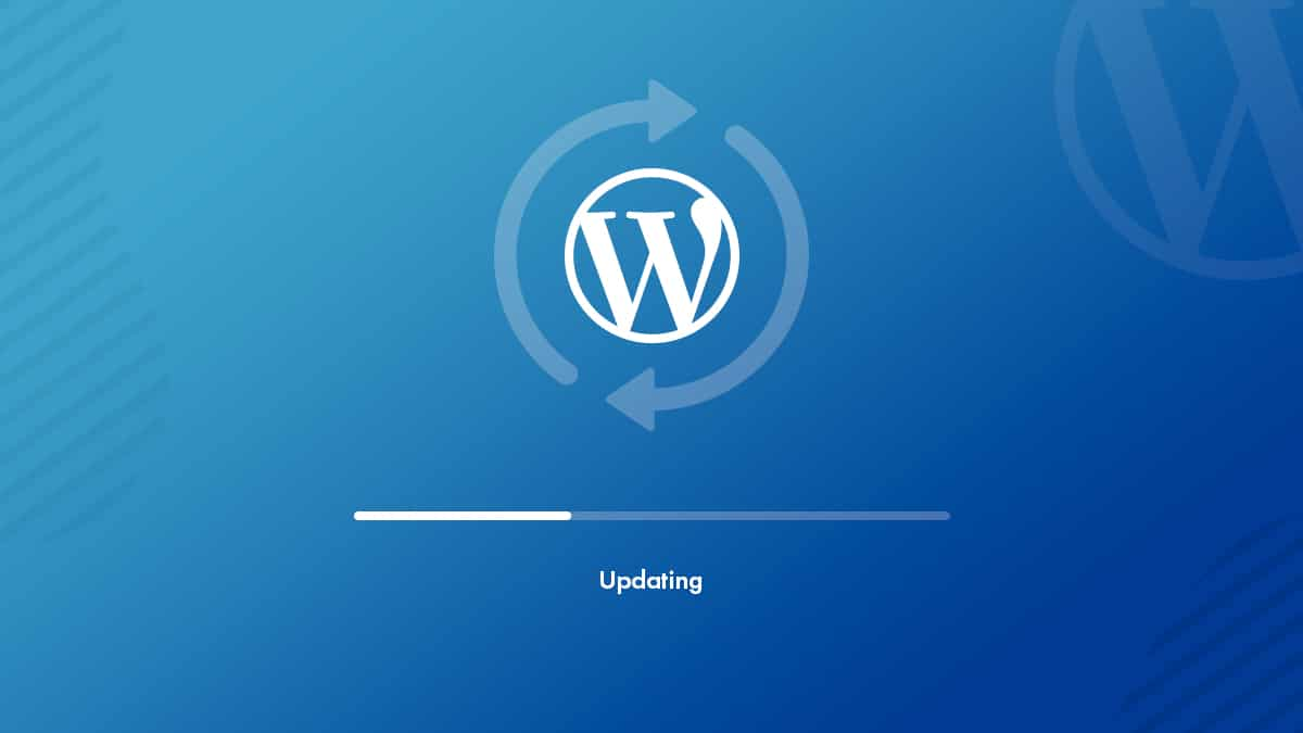 Updating WordPress Version Is A Continous Process