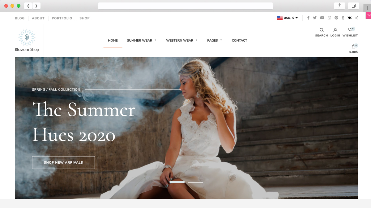Blossom Shop Pro Another Best Mobile Friendly Ecommerce WordPress Theme
