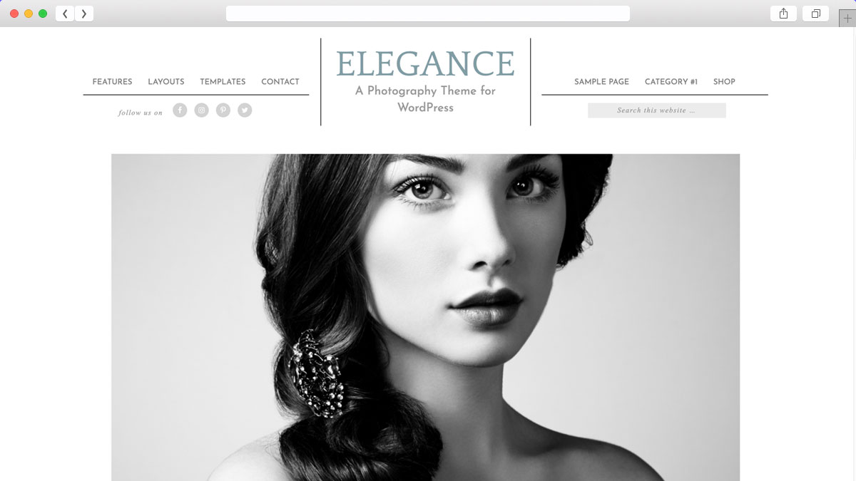 Elegance Pro WordPress Theme is preferred for photographer for their websites.