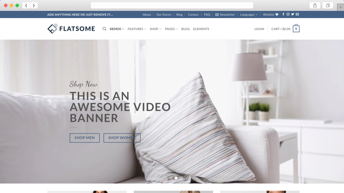 Flatsome One Of The Best Mobile Friendly Ecommerce WordPress Theme
