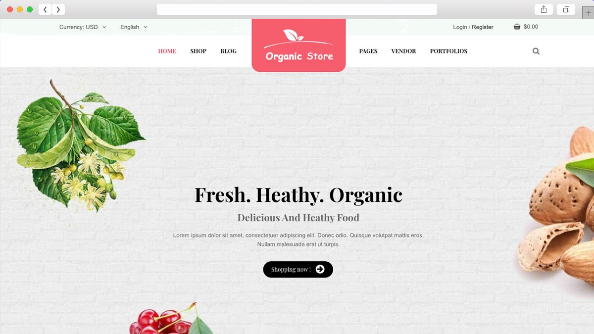 Ordo Natural Cosmetic WooCommerce WordPress Theme