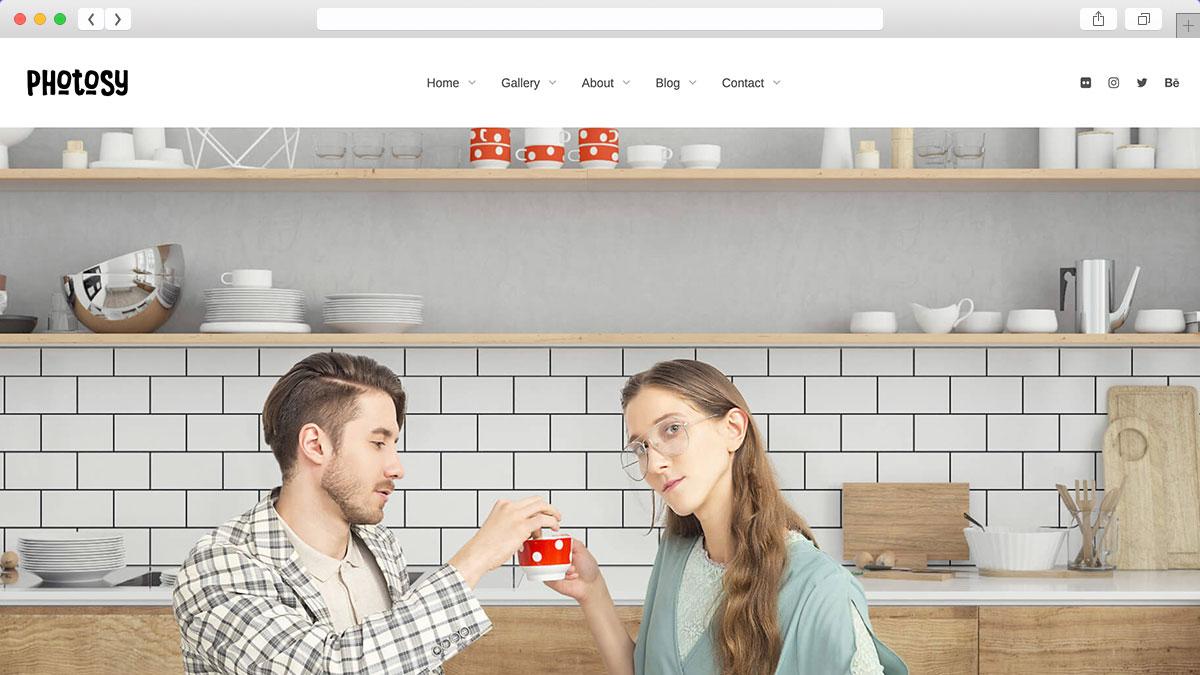 Photosy Photography WordPress Theme