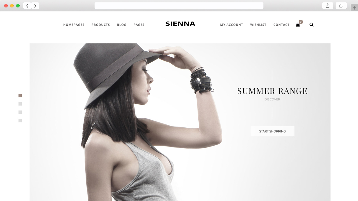 Sienna Fashion WooCommerce WordPress Theme