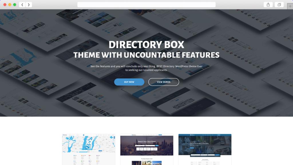 14. Directory AdSense Optimized WordPress Themes