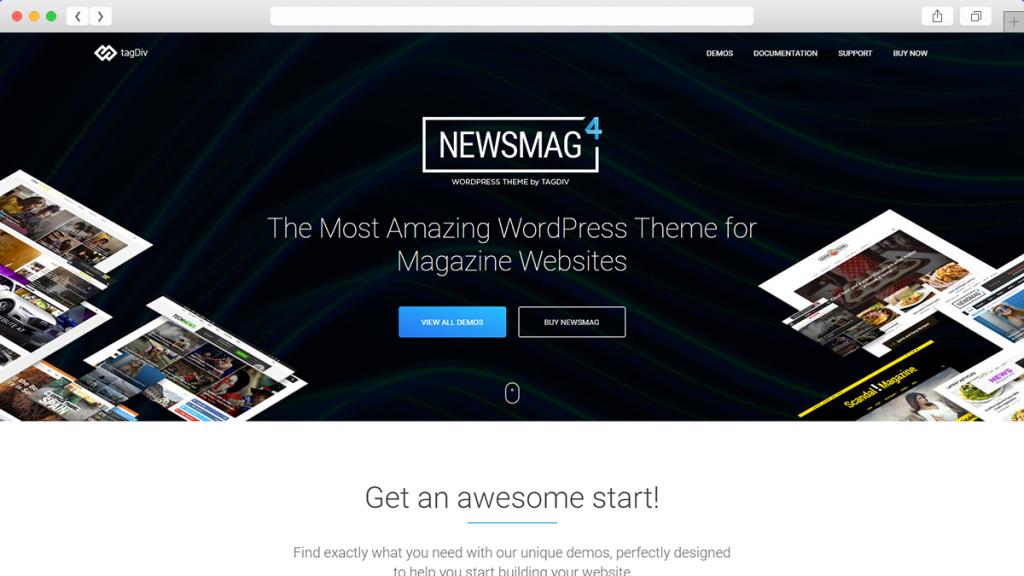 5. NewsMag AdSense Optimized WordPress Themes