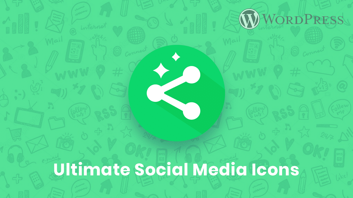 Ultimate Social Media Icons plugin is popular for adding social icons in your post