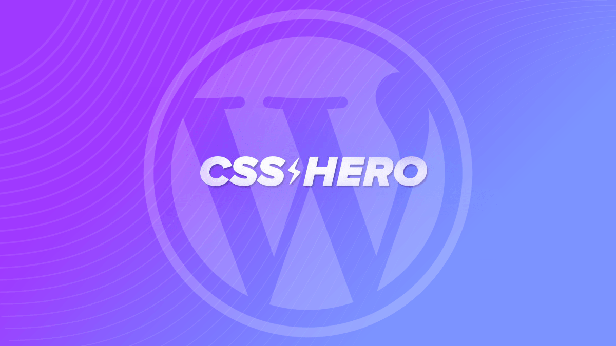 CSS Hero is a programming language & a popular WordPress pluginCSS Hero is a programming language & a popular WordPress plugin