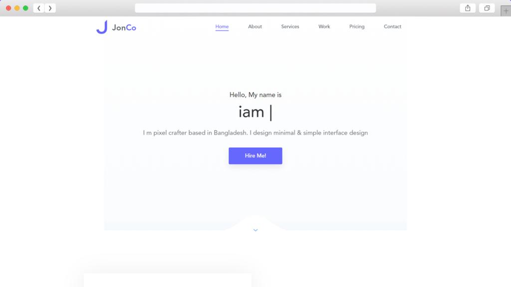Jonco Free WordPress Themes