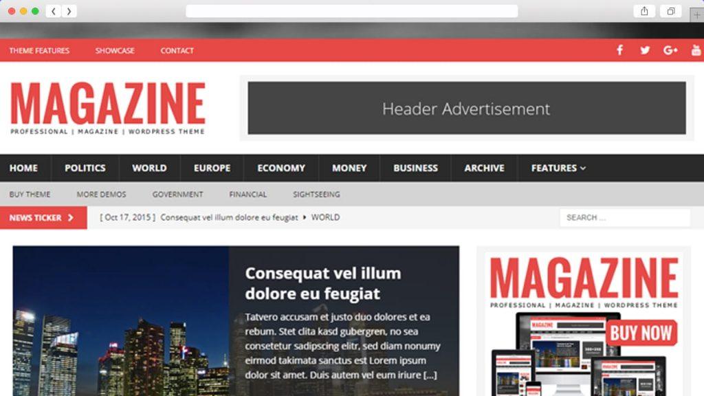 Mh Magazine Lite Free WordPress Themes