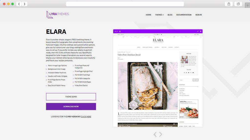 Elara Free WordPress Themes