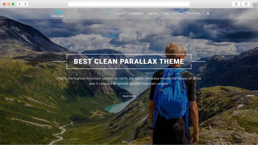 Himalayas Free WordPress Themes
