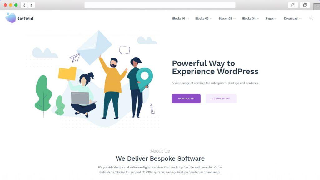 Getwid Base Free WordPress Themes