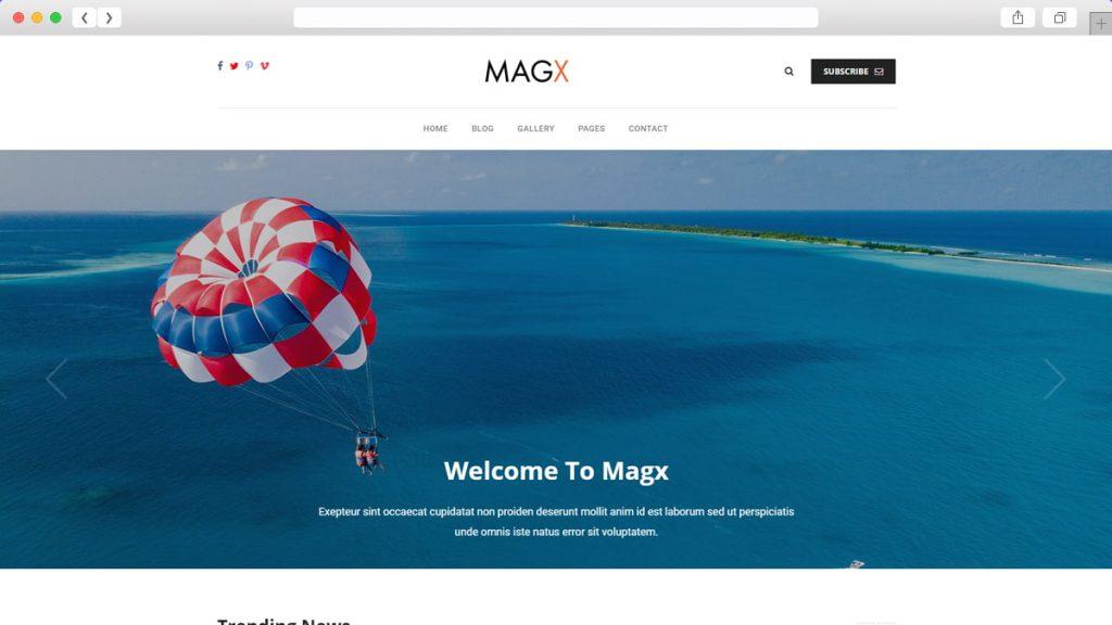Magx Free WordPress Themes