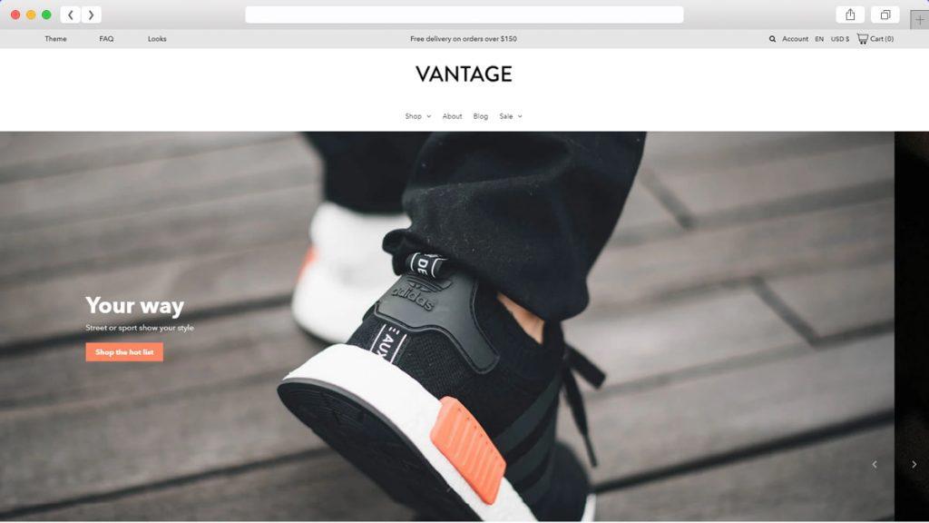 Vantage Free WordPress Themes