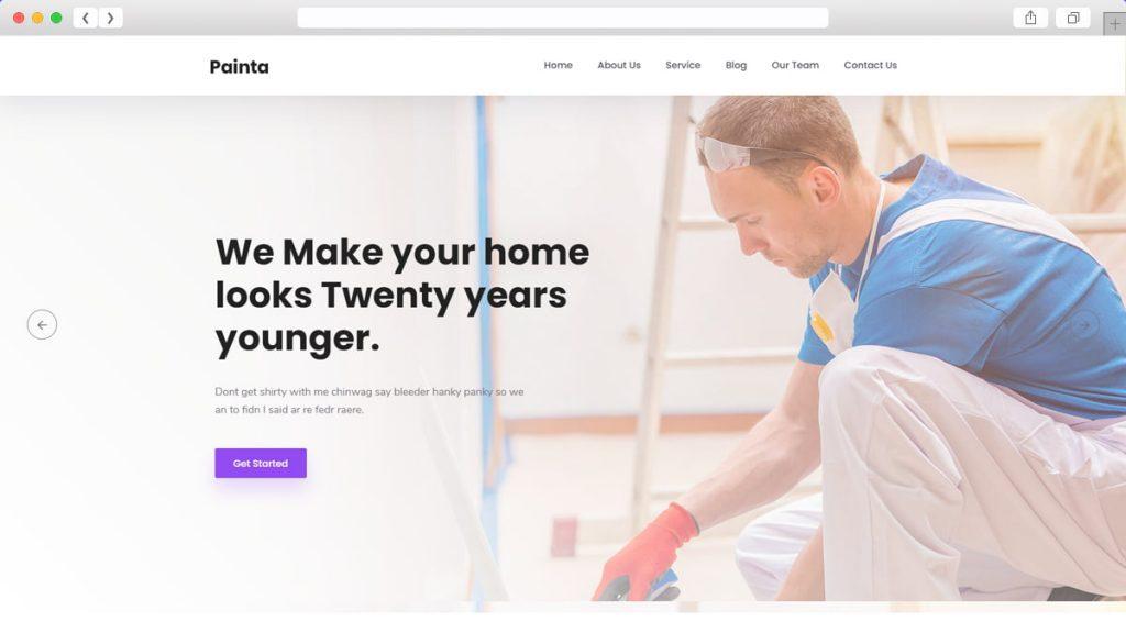 Painta Free WordPress Themes
