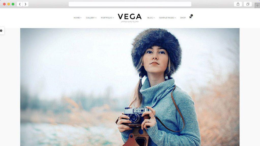Vega Free WordPress Themes