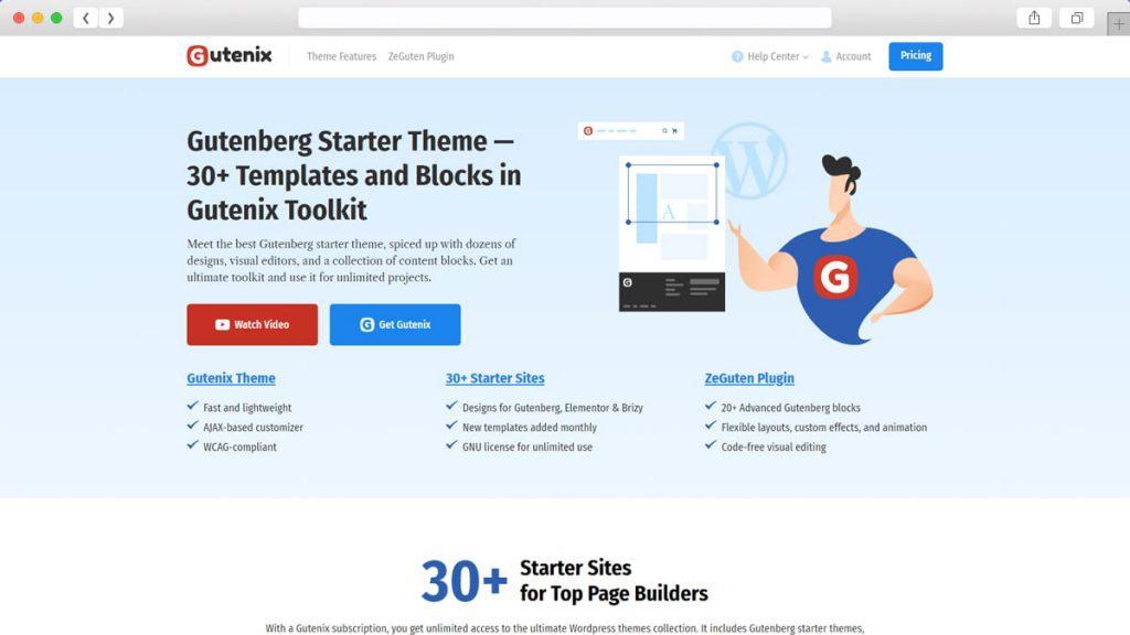 Gutenix Free WordPress Themes