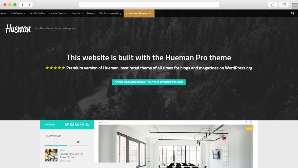 Hueman Free WordPress Themes