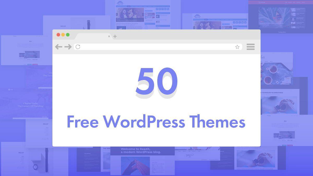50 Free Wordpress Themes