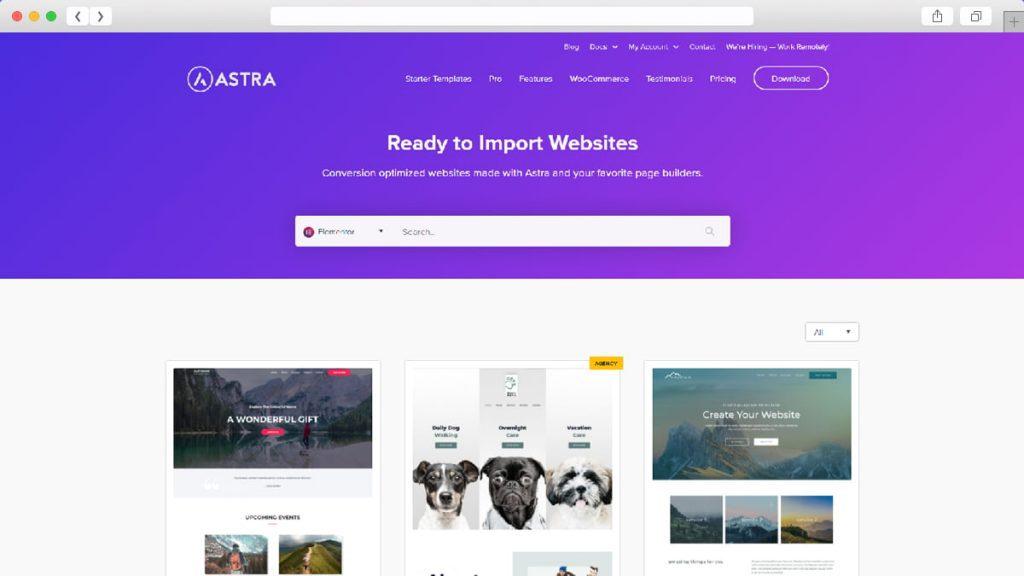 7. Astra Free WordPress Themes