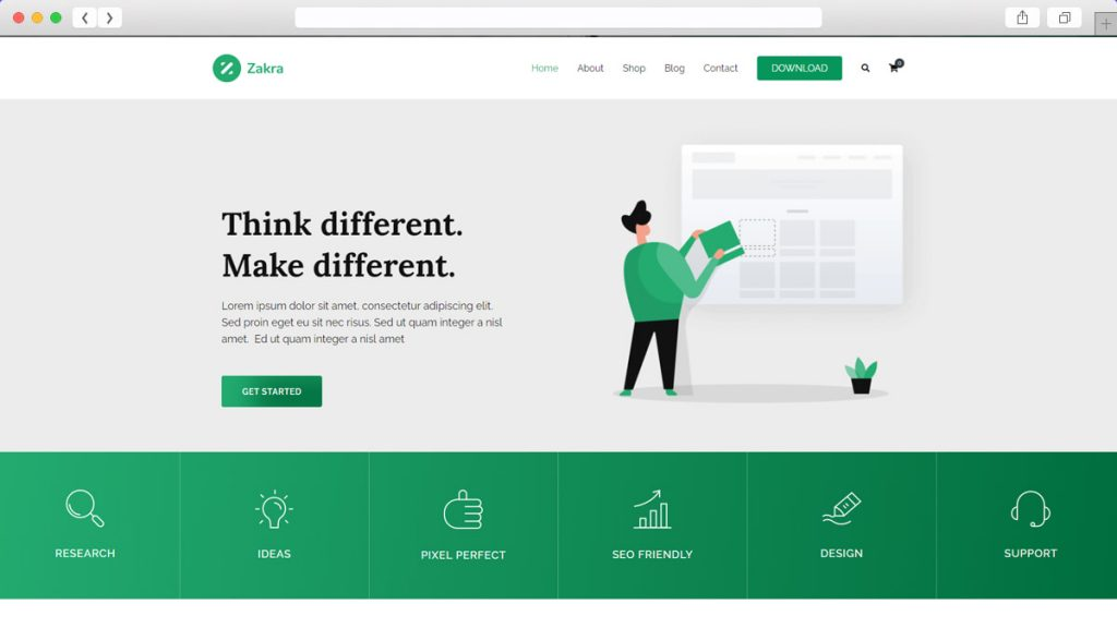 Zakra Free WordPress Themes