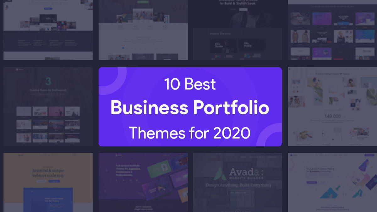 Best Business Portfolio Themes
