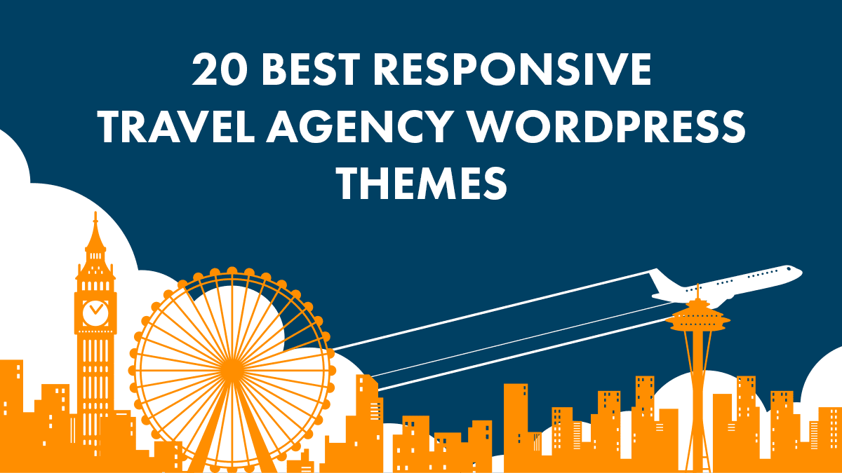 Best Responsive Travel Agency WordPress Themes