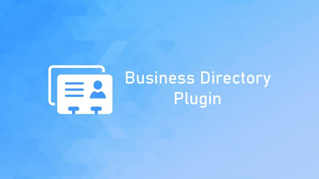 Business WordPress Directory Plugins