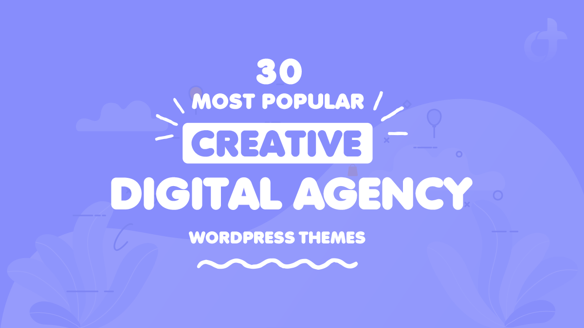 Popular Creative Digital Agency WordPress Themes