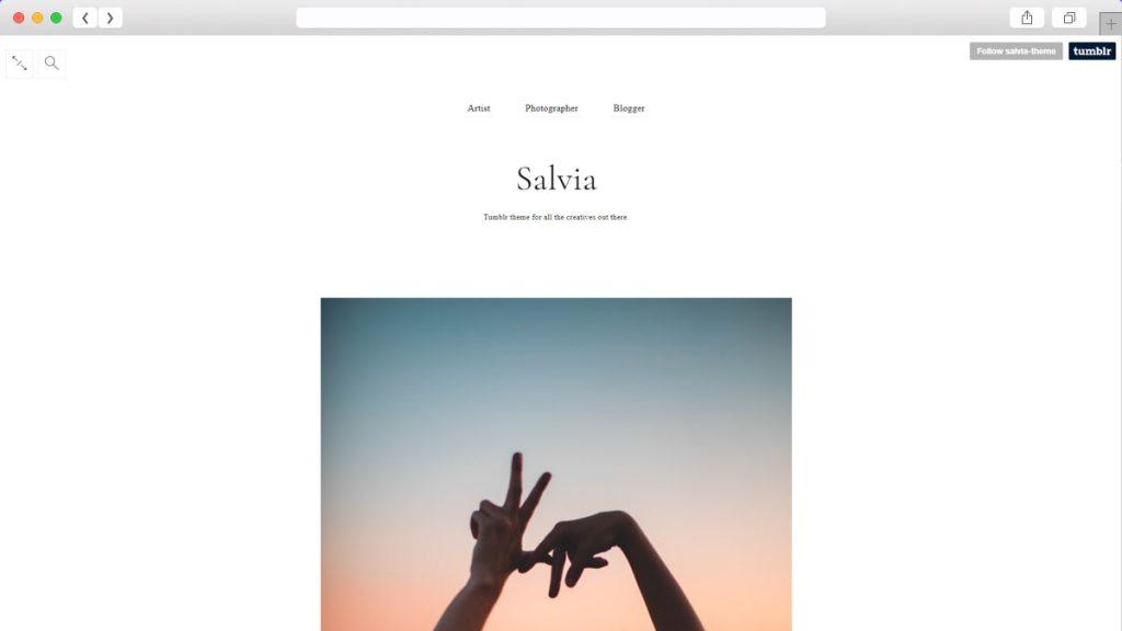 Salvia Free Tumblr Themes