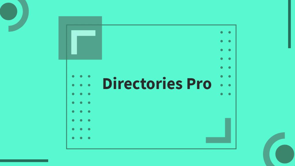 directory pro WordPress Directory Plugins