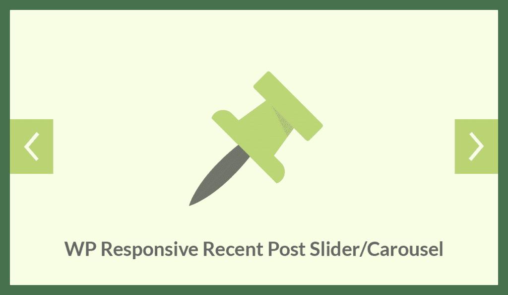 WP Responsive Recent Post Slider/Carousel