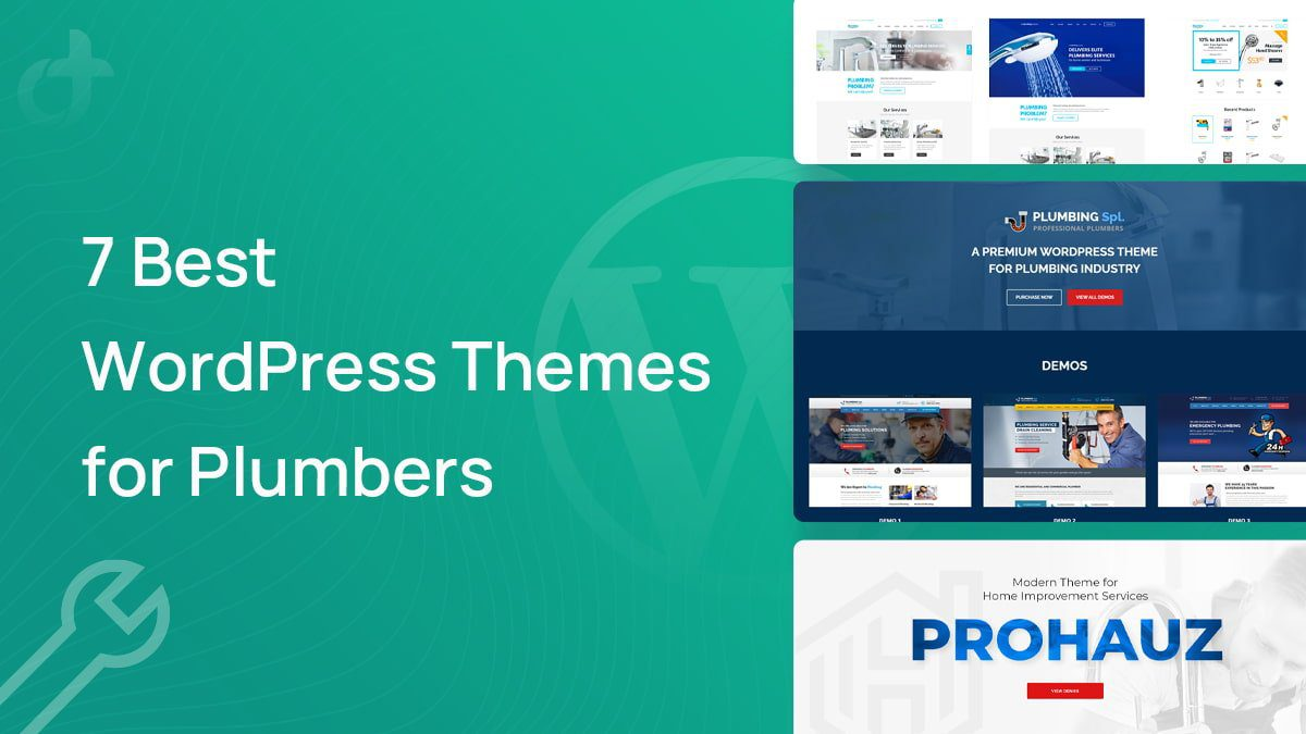 Best WordPress Themes for Plumbers