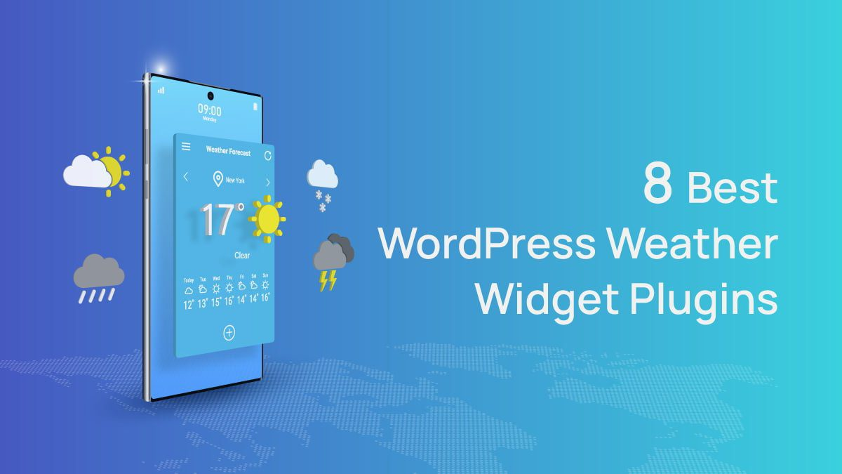 Best WordPress Weather Widget Plugins