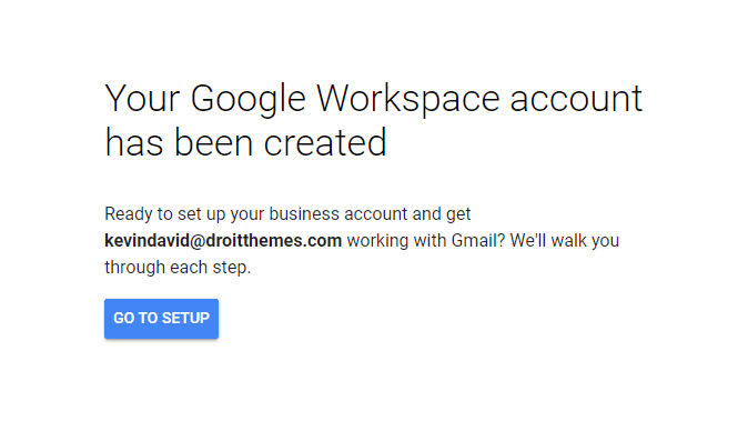 Email Address with Gmail and G Suite - 6