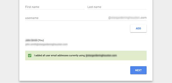 Email Address with Gmail and G Suite - 7