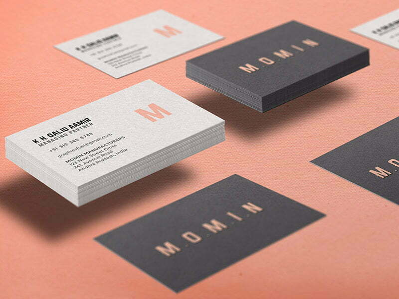 Mockup of a Business Card
