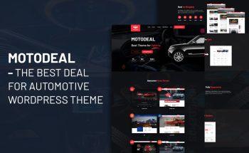 Motodeal – The Auto trader WordPress themeBest Deal for Automotive WordPress Theme