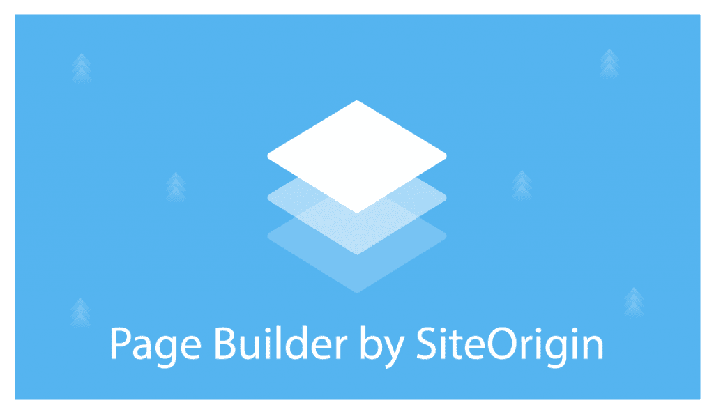 Page Builder from Site Origin