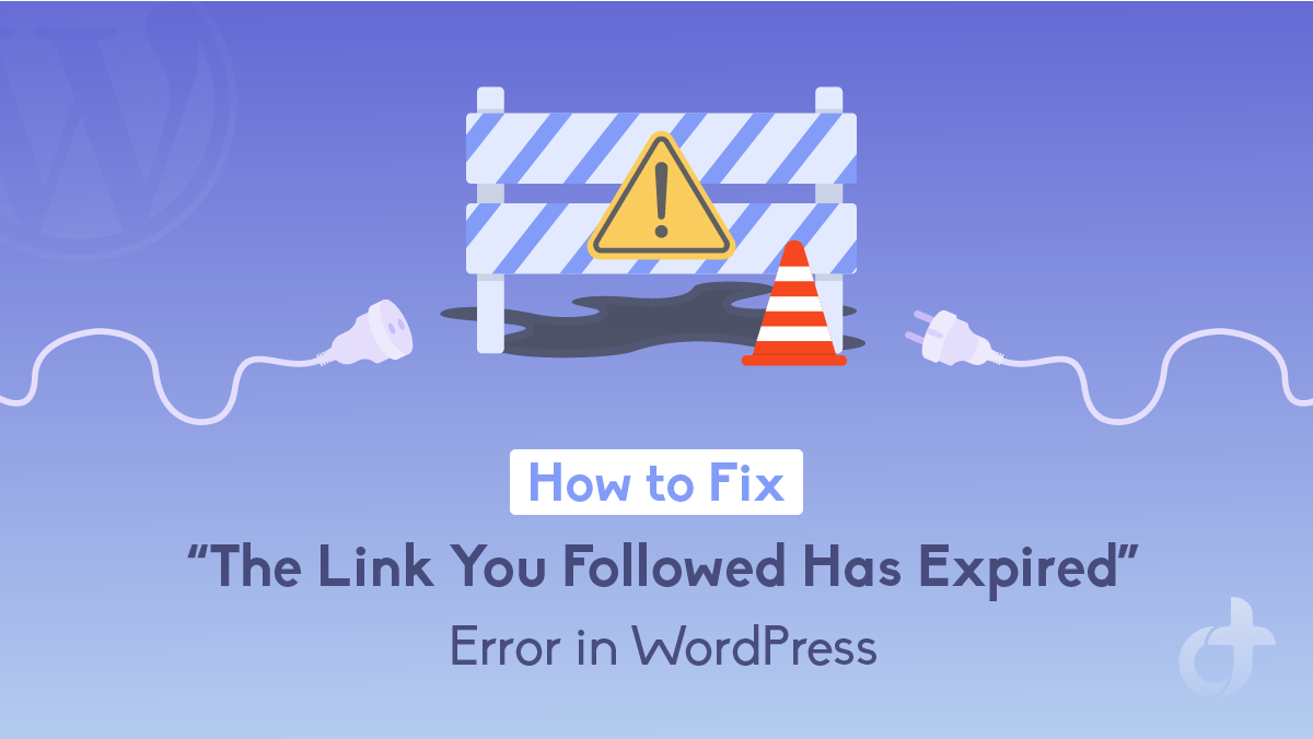 The Link You Followed Has Expired