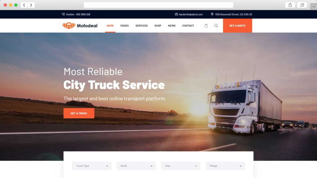truck demo of Motodeal