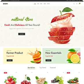 Shopi Home Page V15