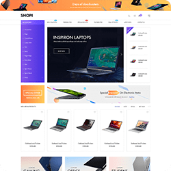 Shopi Home Page V4
