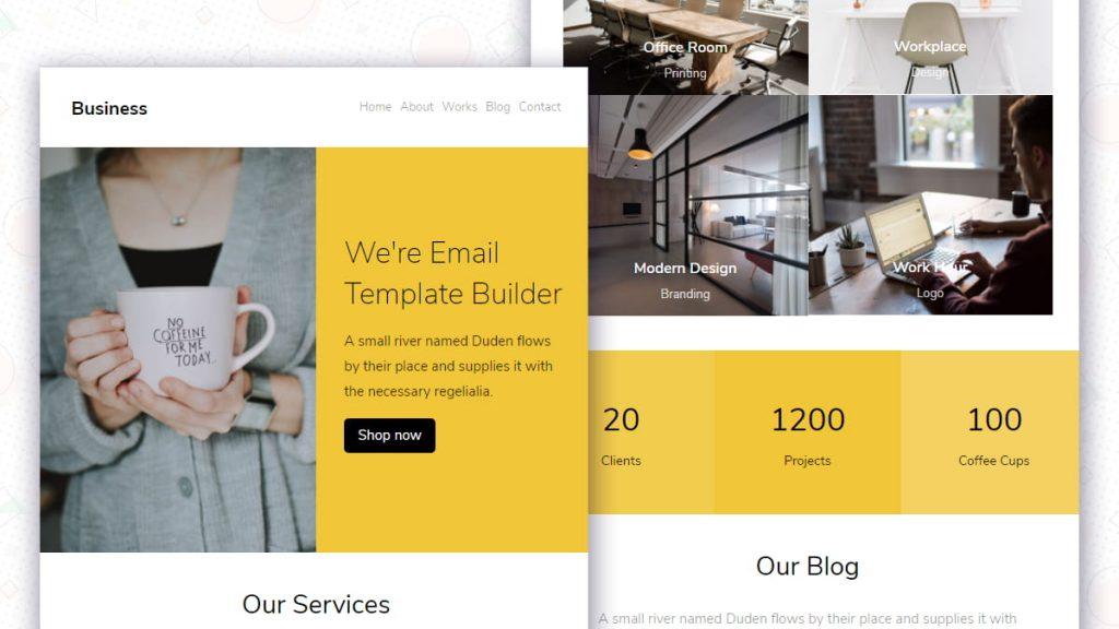 Colorlib Business Email Newsletter v14