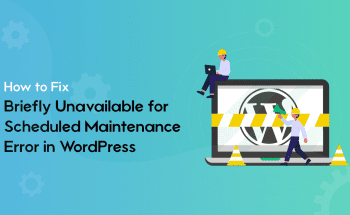 fixing maintenence in wordpress